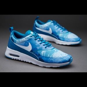 Air Max Thea Clearwater Blue Sneakers Sz 9.5